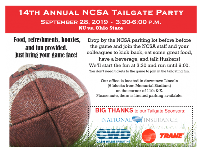 Tailgate Flyer 2019